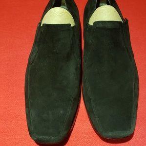 Mens Mezlan suede shoes size 13M